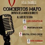 zgz conciertos mayo